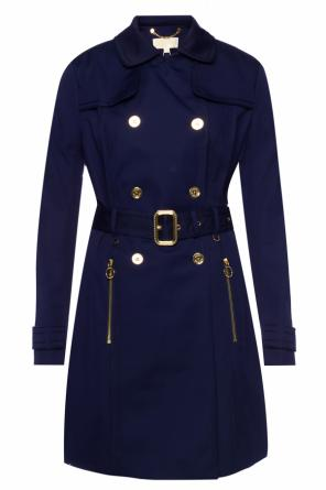 Single-vented trench coat od Michael Kors