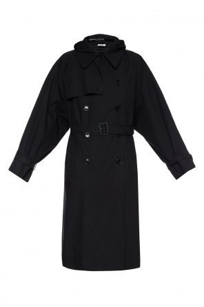 Oversize double-breasted trench coat od Vetements