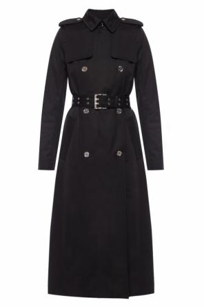 Belted double-breasted trench coat od Michael Kors