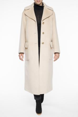 Single-vented coat od Valentino Red