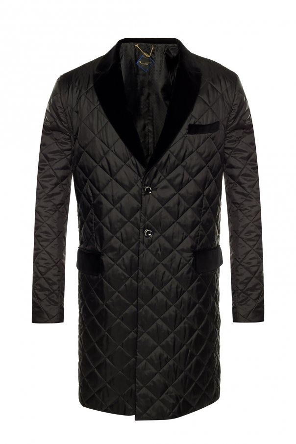 Quilted coat with pockets od Billionaire