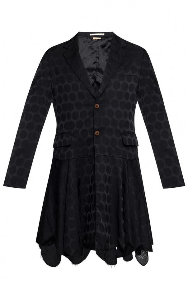 Comme des Garcons Homme Plus Coat with geometric pattern