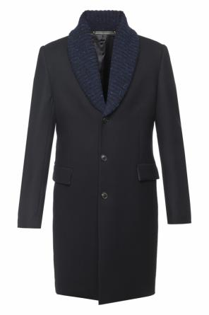 Wool collar coat od Paul Smith