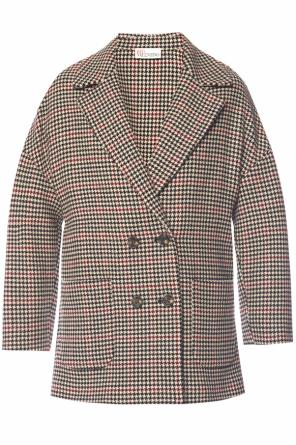 Houndstooth coat od Valentino Red