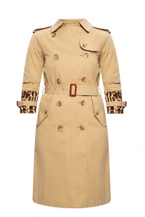 Leopard-printed coat od R13