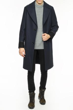 Coat with notch lapels od Lanvin