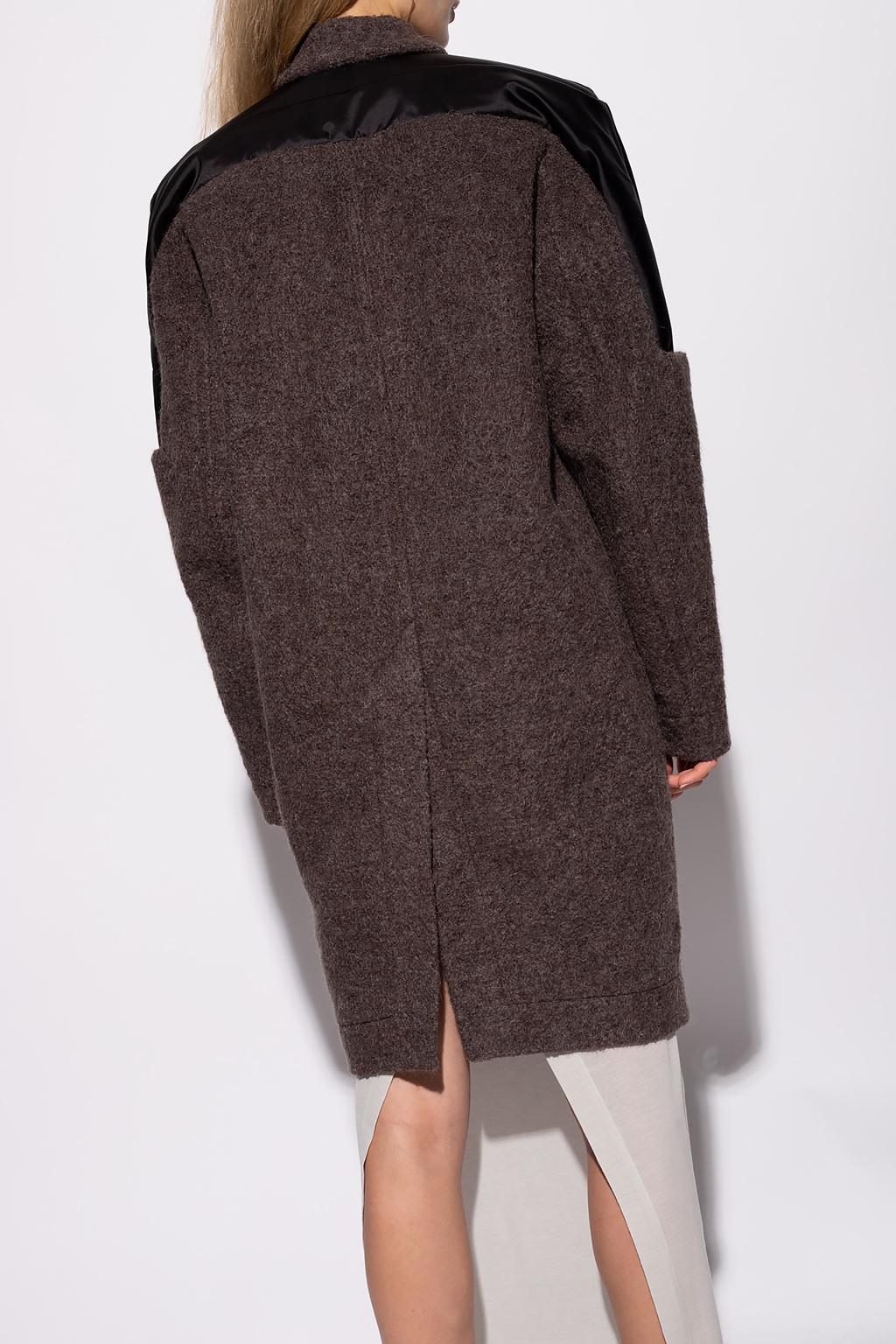 Rick Owens Coat with pockets