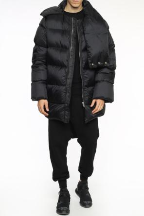 Quilted jacket with collar od Rick Owens