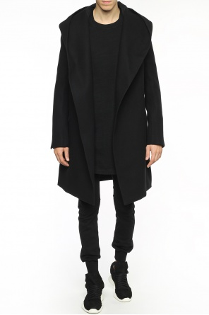 Hooded coat od Rick Owens