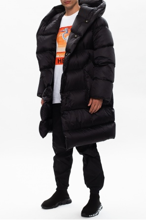 Quilted down coat od Rick Owens