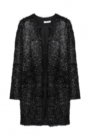 V-neck coat od Lanvin
