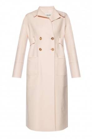 Belted double-breasted coat od Lanvin
