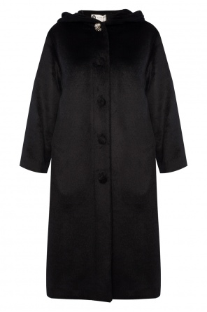 Hooded fur coat od Lanvin