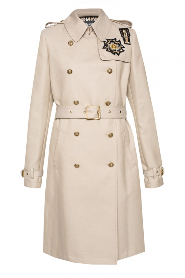 Just Cavalli double breasted trench coat Pick A Best 85AA8A