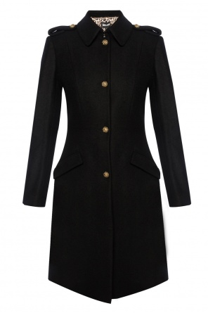 Coat with decorative buttons od Just Cavalli