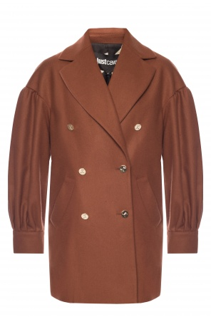 Double-breasted coat with pockets od Just Cavalli