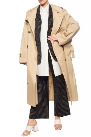 Oversize double-breasted coat od Maison Margiela