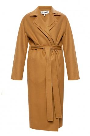 Płaszcz z otwartymi klapami od Loewe