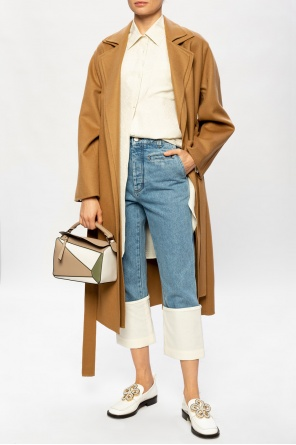 Coat with notched lapels od Loewe
