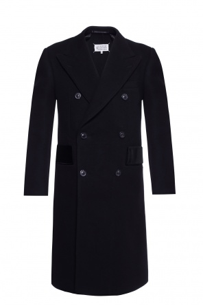 Embellished double-breasted coat od Maison Margiela