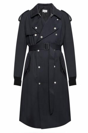 Belted double-breasted trench coat od Maison Margiela