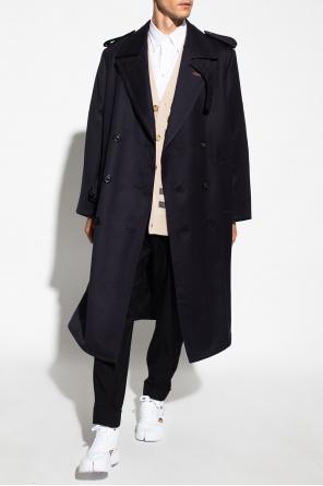 Wool trench coat od Maison Margiela