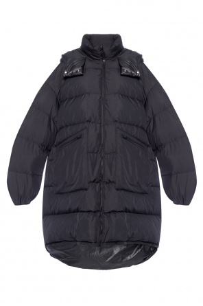 Hooded quilted jacket od Maison Margiela