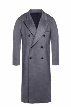 Double-breasted cashmere coat od Maison Margiela