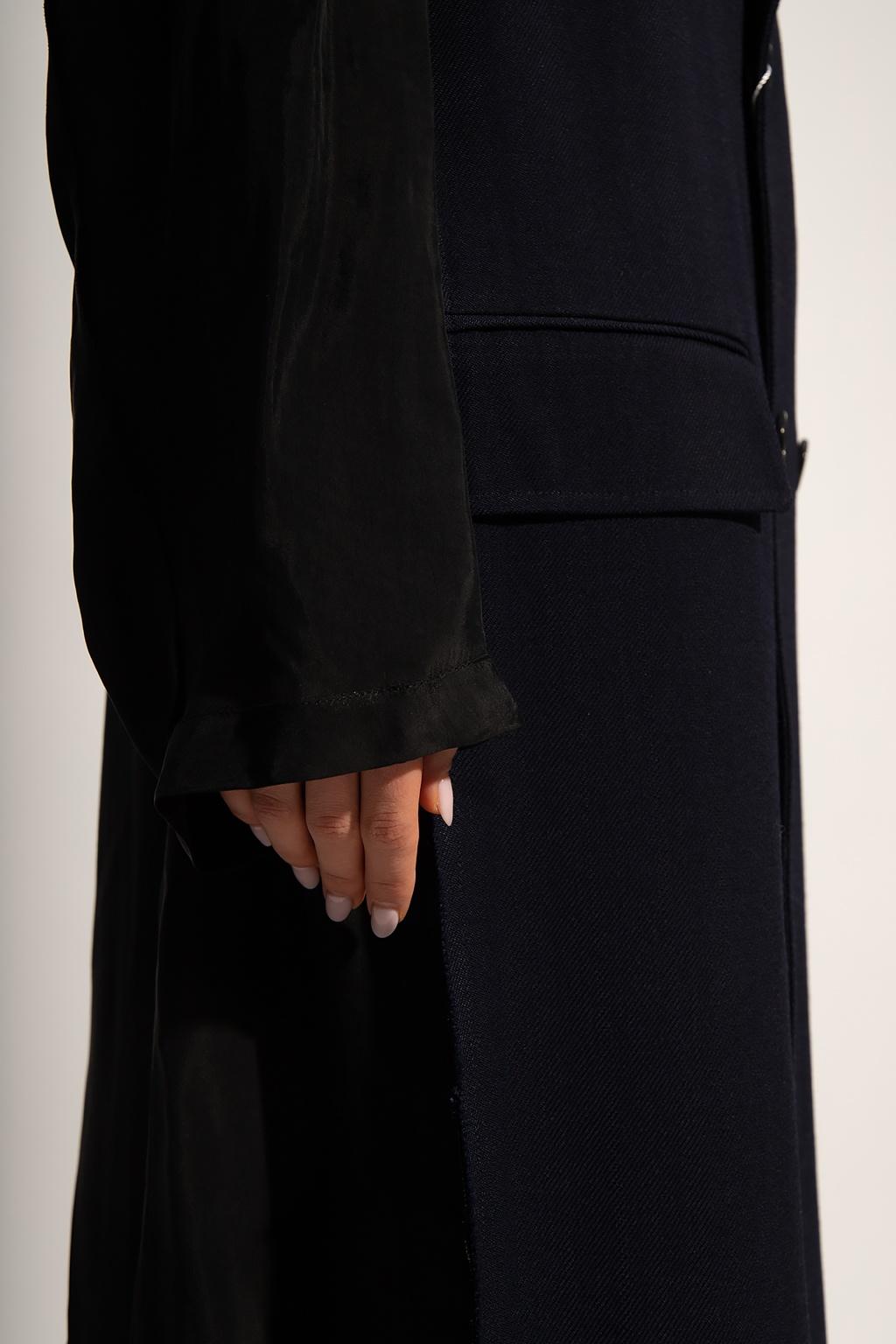 Maison Margiela Coat with raw-cut lapels