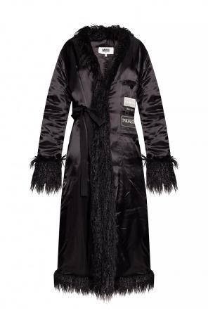 Patched coat od MM6 Maison Margiela