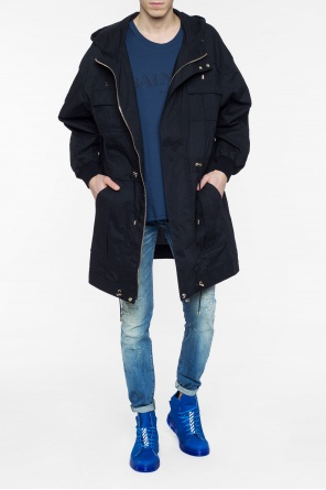 Hooded parka od Balmain