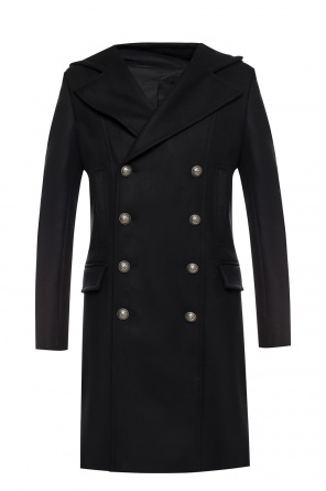 Double-breasted coat od Balmain