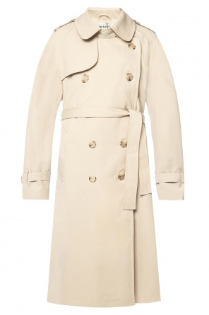 Branded double-breasted trench coat od MISBHV