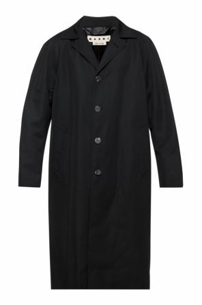Coat with inset pockets od Marni