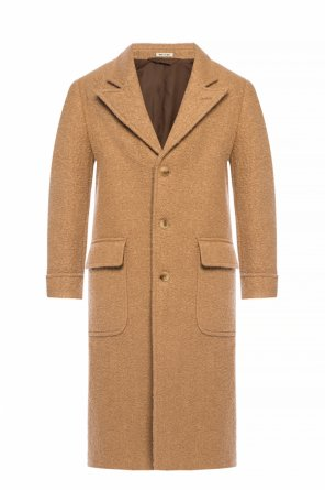 Wool coat with pockets od Marni