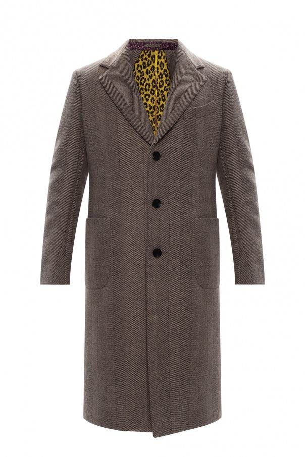 Etro Notch lapel coat