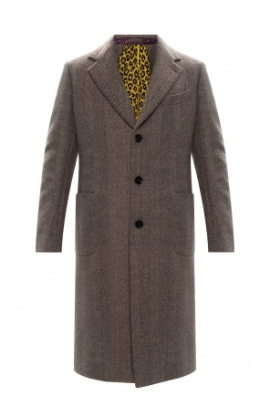 Notch lapel coat od Etro
