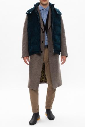 Notch lapel coat od Etro