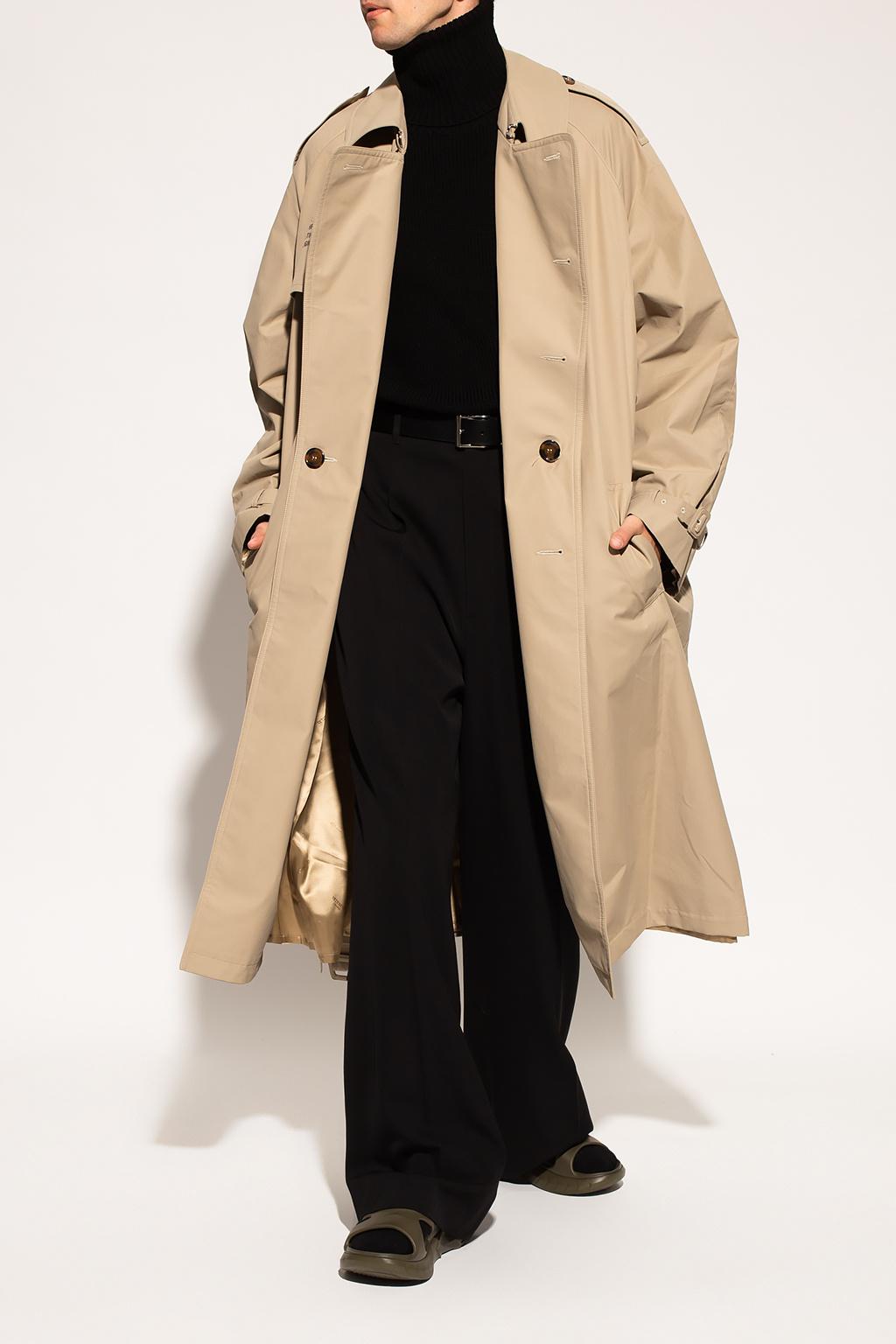 VETEMENTS Printed trench coat