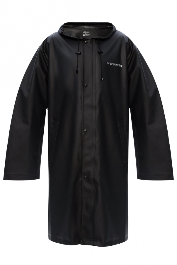 Vetements Logo raincoat
