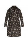 Undercover Patterned oversize coat