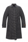 Undercover Checked wool coat