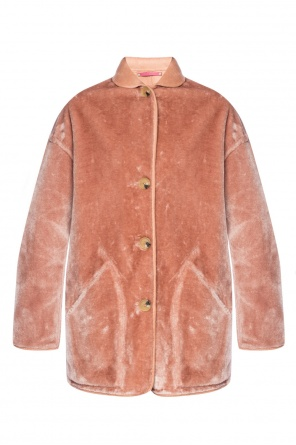 Coat with a fur finish od Paul Smith