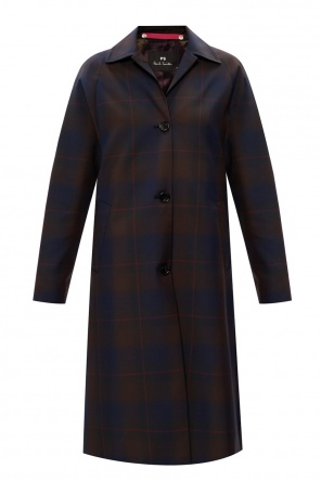 Checked coat od PS Paul Smith