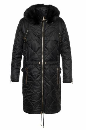 Quilted coat od Balmain