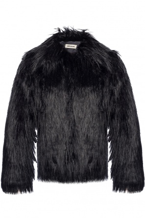 Fur jacket with pockets od Zadig & Voltaire