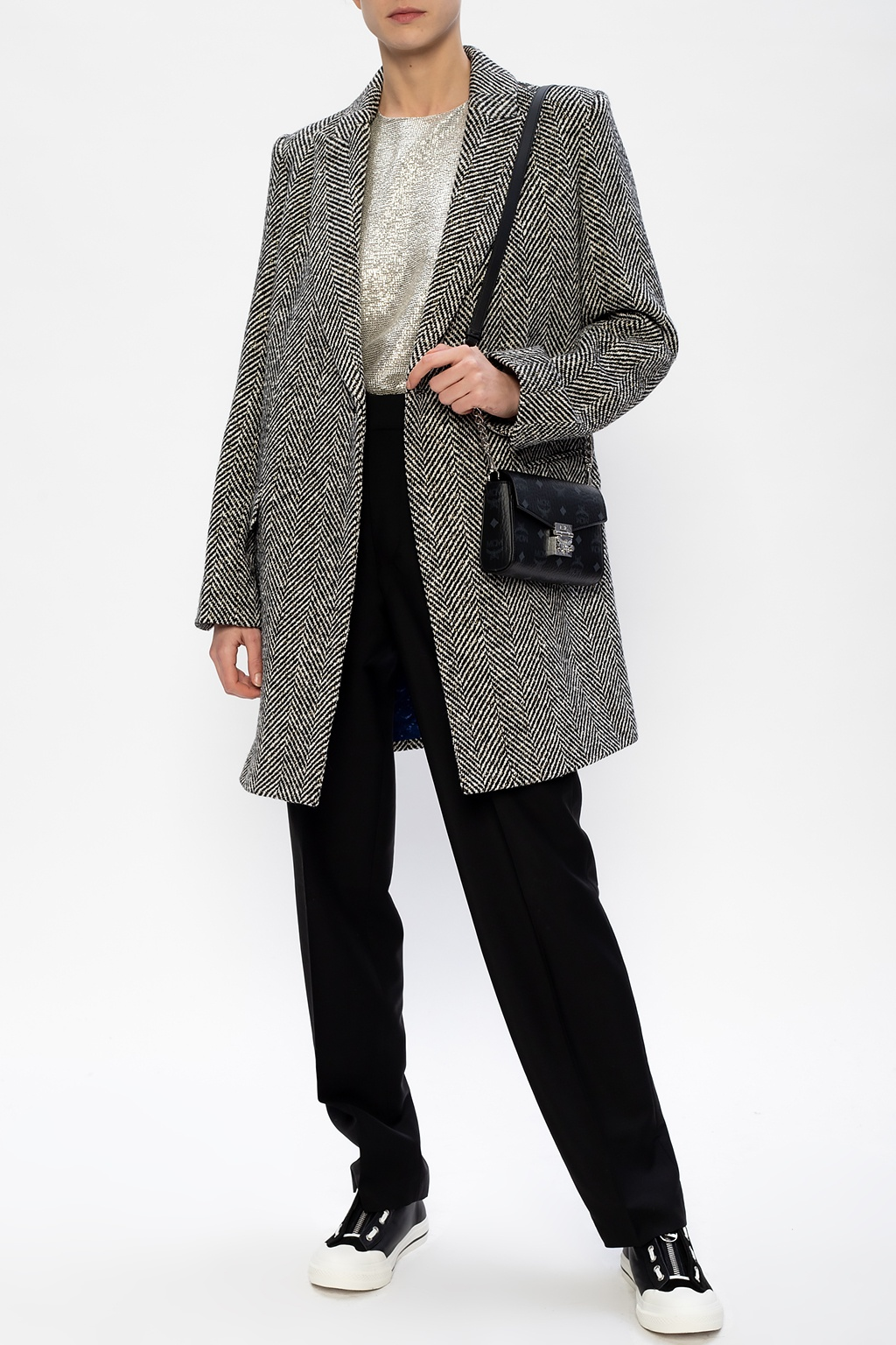 Zadig & Voltaire Coat with notched lapels