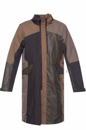 Coat with detachable hood od White Mountaineering