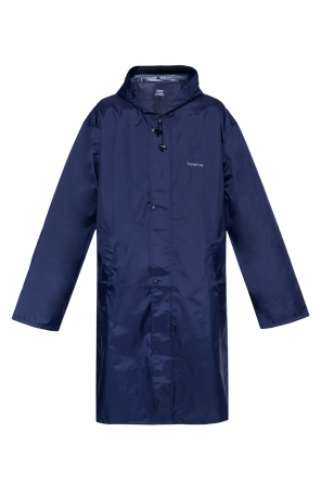 Aquarius horoscope motif raincoat od Vetements