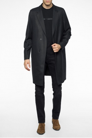 Coat with notch lapels od Emporio Armani